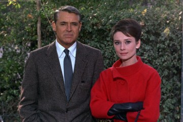 Cary Grant and Audrey Hepburn, Charade