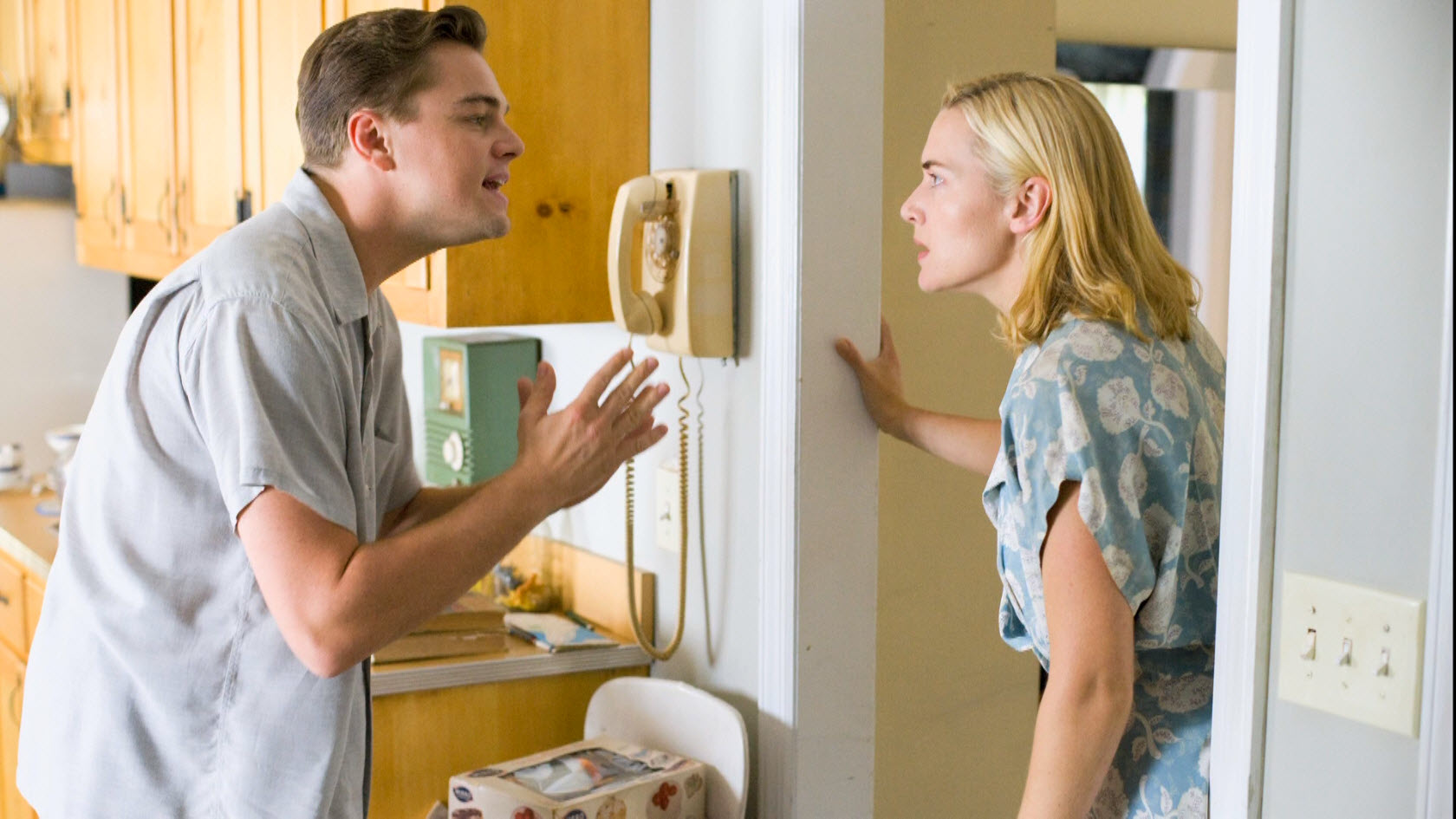 Kate Winslet and Leonardo DiCaprio, Revolutionary Road