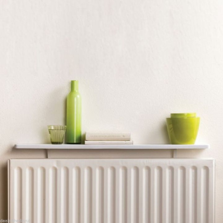 Keep your home warm this winter radiators blinds by for Mensola sopra termosifone