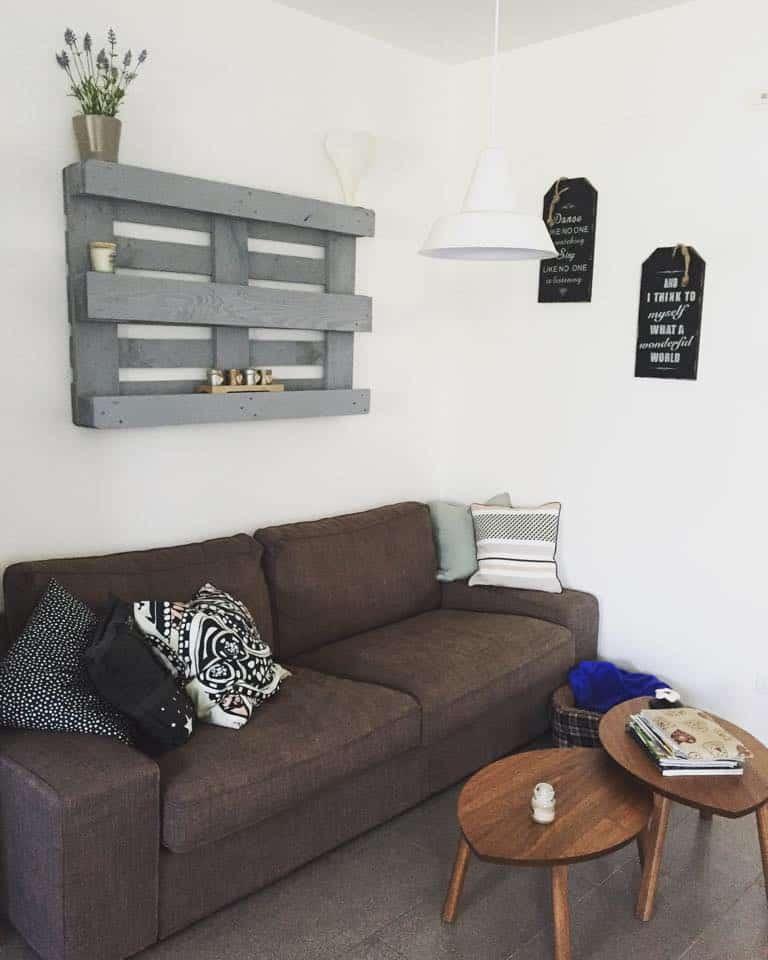 Decorare Con Le Mensole : Pallet idee creative di fai da te per la casa