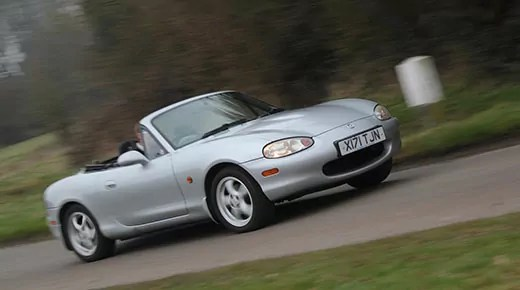 Driven: classic Mazda MX5 review