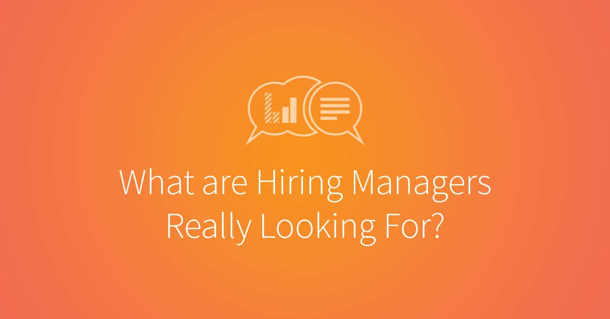 what are hiring managers really looking for udacity