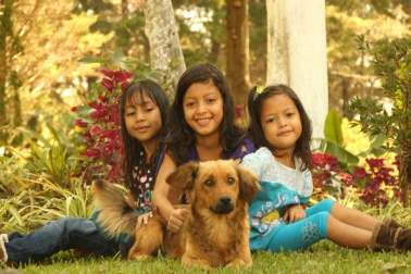 Sponsored children in El Salvador