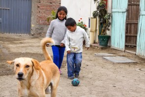CFCA sponsored children in Peru