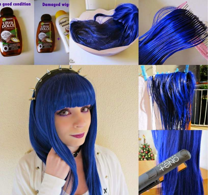 how to wash lolita wigs for women