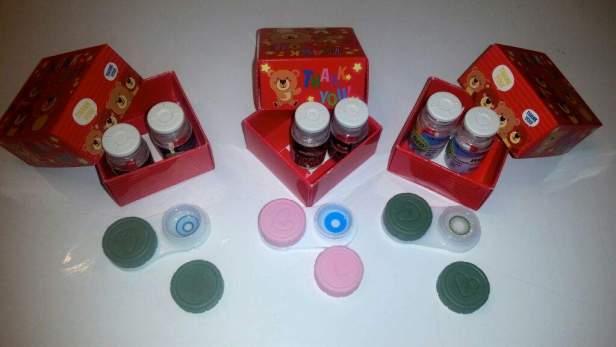 prescription colored contacts