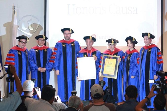 Unitec entrega Doctorado Honoris Causa a dos distinguidos ciudadanos