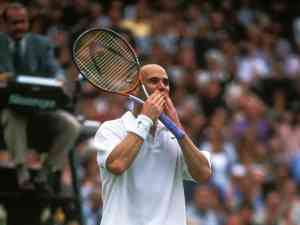 Andre Agassi says goodbye