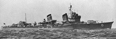 IJN Destroyer Amagiri