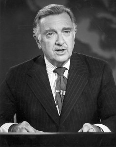 Walter Cronkite- anchorman