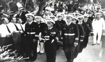 Funeral Procession for Captain Langsdorff