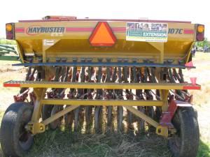 Haybuster no-till drill.