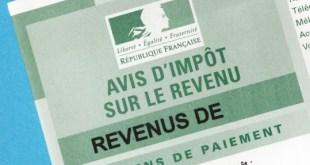 impôt sur le revenu 2016