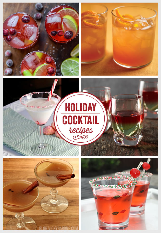 Things I Love: Holiday Cocktail Recipes