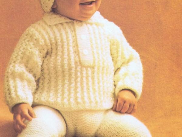 e pice baby set knitting pattern
