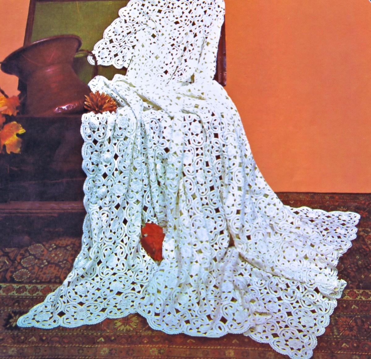 Free Irish Crochet Bedspread Pattern