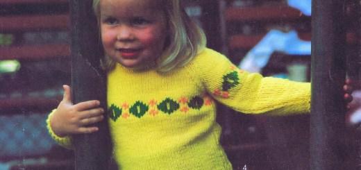3 Toddler Sweater Knitting Patterns