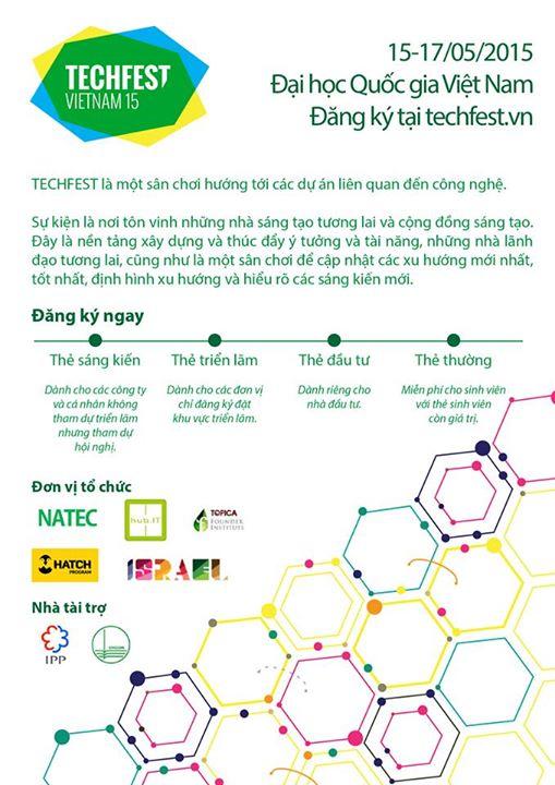 TechFest2015-Chuong trinh