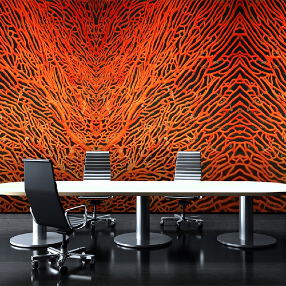 Sea Anemone Coral Wall Mural M8954