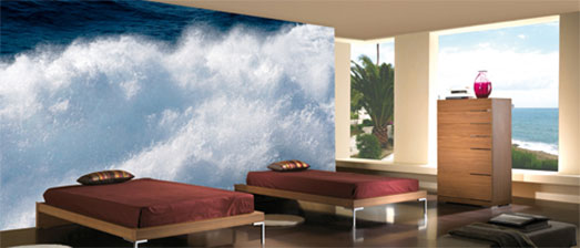 Digital Wall Murals to Dramatize Your Interiors