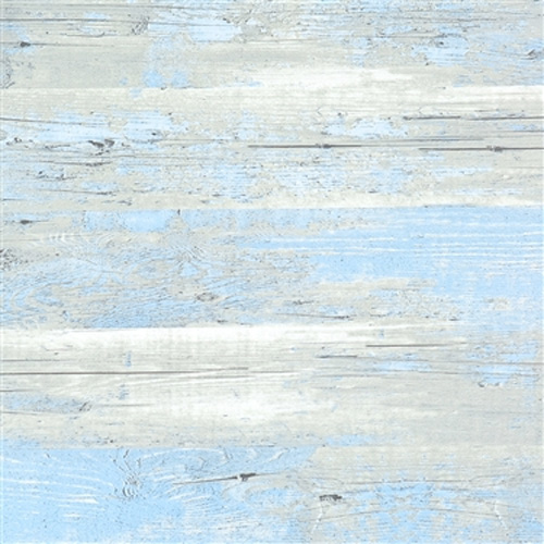 Brushed Wood Blue-Grey Faux Finish Wallpaper R1881
