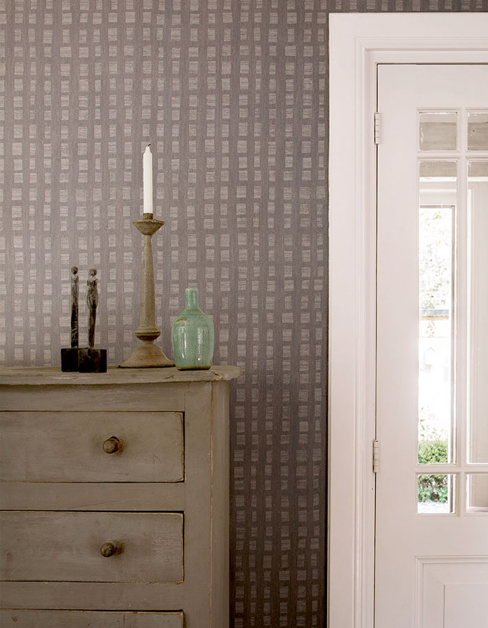 Slate Scratched Tone On Wallpaper R2440