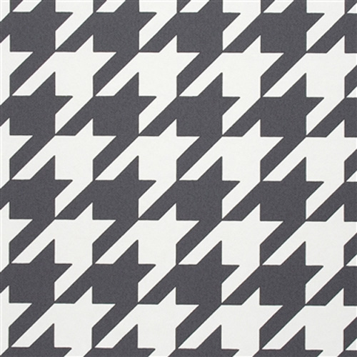 Black and White Dogstooth Classic Children's Wallpaper R2542