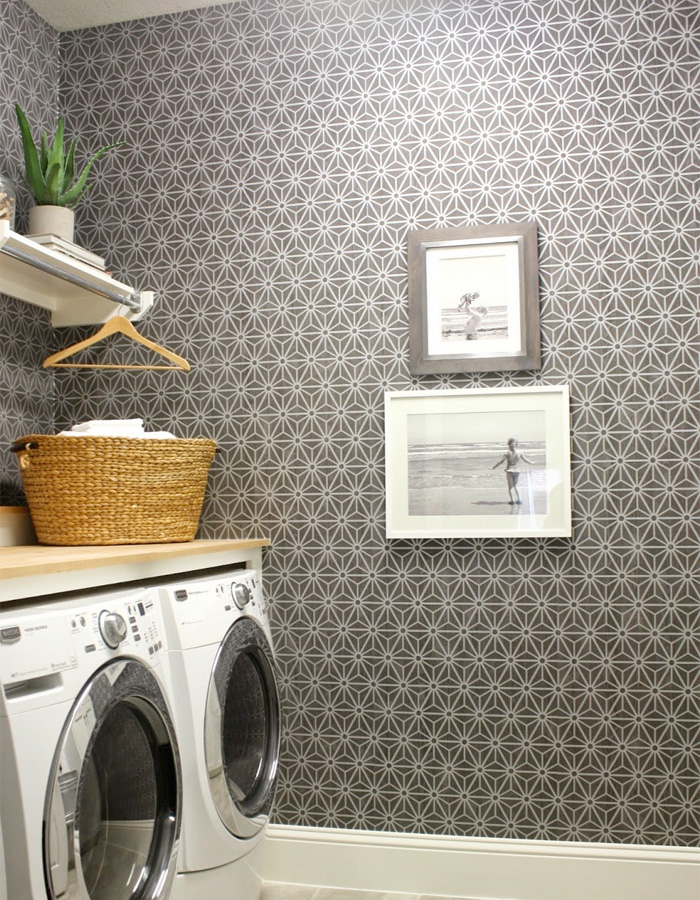 Walls Republic | Grey Geometric R2245