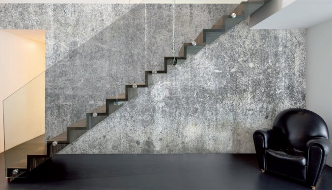Coarse Concrete Wallpaper Mural | Walls Republic