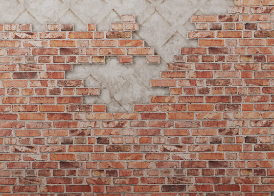 brick wallpaper mural
