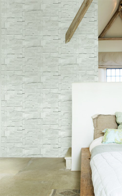 Walls Republic block stone faux brick wallpaper