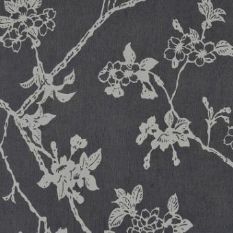 black and white floral wallpaper by walls republic