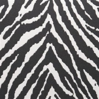 black and white zebra stripe wallpaper by walls republic