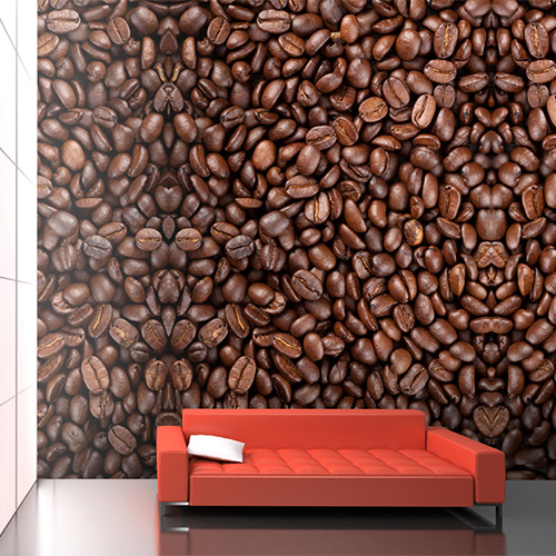 …or a coffee fanatic? | Coffee Beans Wall Mural by Walls Republic