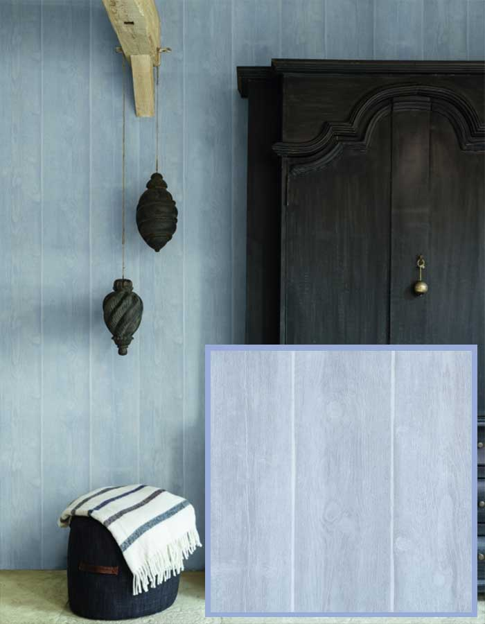 Soft and sweet timber planks in a lovely serenity blue pastel | walls republic pantone rose quartz and serenity wallpaper