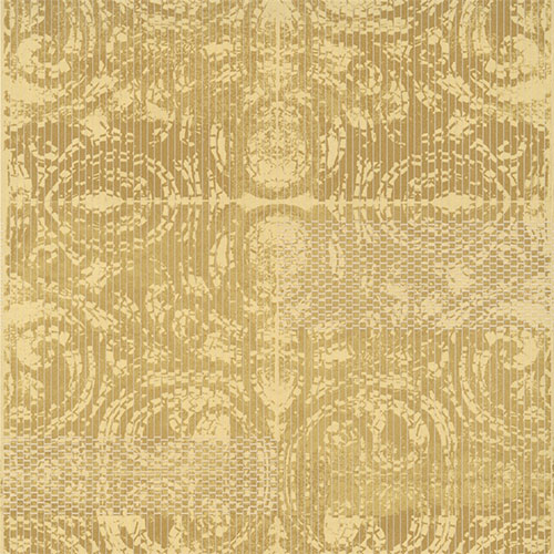 Gold Trance (R2729) is a ravishing wild snake pattern that form unique medallion shapes on living room walls
