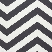 Black & White Chevron Stripe R2552