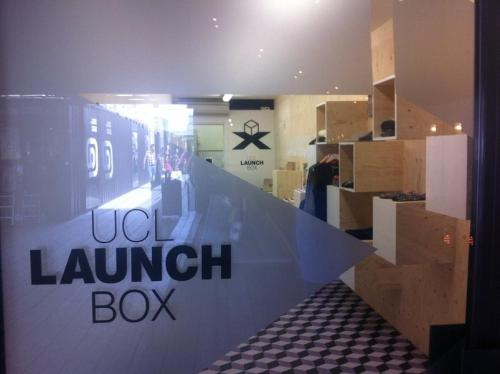 UCL's Launchbox Pop Up Shop at Boxpark Shoreditch