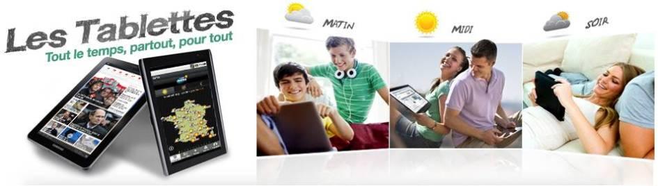 Tablette - Webdistrib et Weo