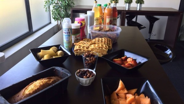 Petit déjeuner Webdistrib