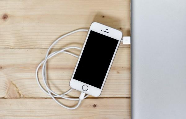téléphone batterie