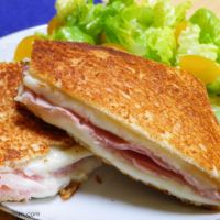 Croque Monsieur #CookforJulia #SundaySupper