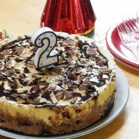 Kahlua-Toffee Ice Cream Cake #SundaySupper