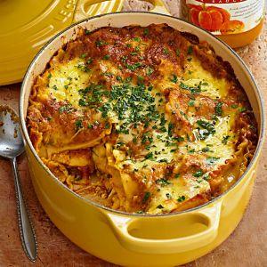 Pumpkin Lasagna with Fontina