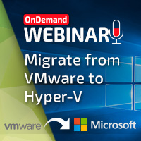 Gridstore Migrating from VMWare to Hyper-V
