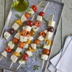 Fourth of July Mozzarella Kebab Party!