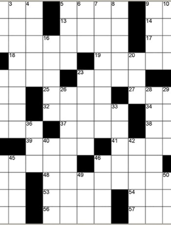 THE TACO CLEANSE Crossword