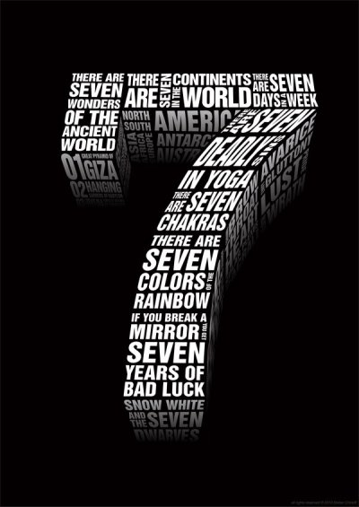 Why the number 7 is considered a lucky number?