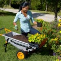 WORX Aerocart in the garden