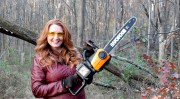 Think Chainsaws Are Just For Men?